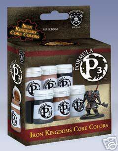 Iron Kingdoms: Formula P3 - Box Set