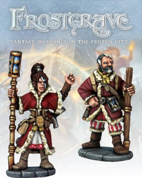 Frostgrave: Chronomancer and Apprentice