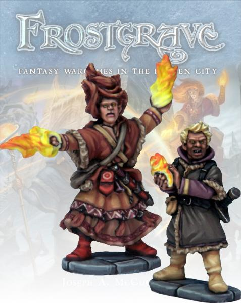 Frostgrave: Elementalist and Apprentice