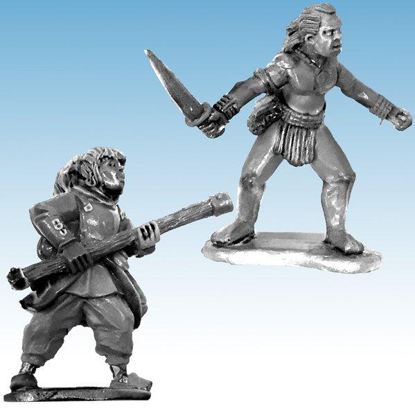 Frostgrave: Ghost Archipelago Pearl Diver & Guide