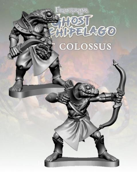 Frostgrave: Ghost Archipelago Snake-man Tomb Robber & Scout
