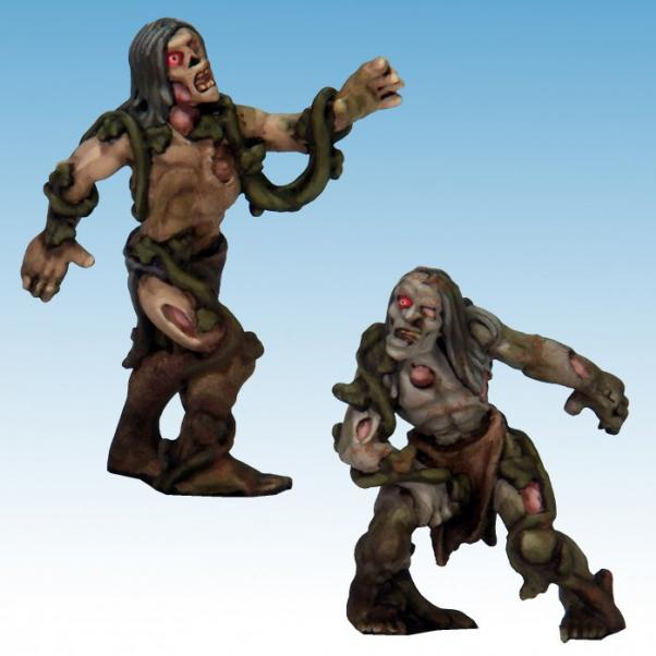 Frostgrave: Ghost Archipelago Swamp Zombies