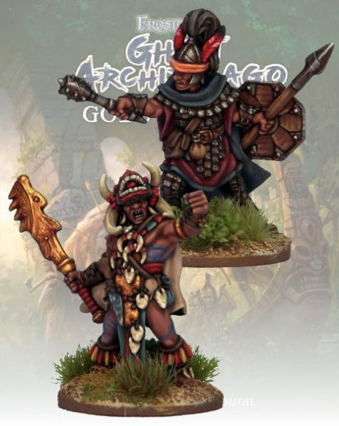 Frostgrave: Ghost Archipelago Totem Warrior & Vanguard