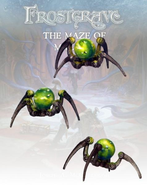 Frostgrave: Glass Spiders (3)