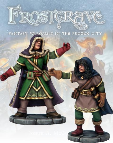 Frostgrave: Illusionist and Apprentice
