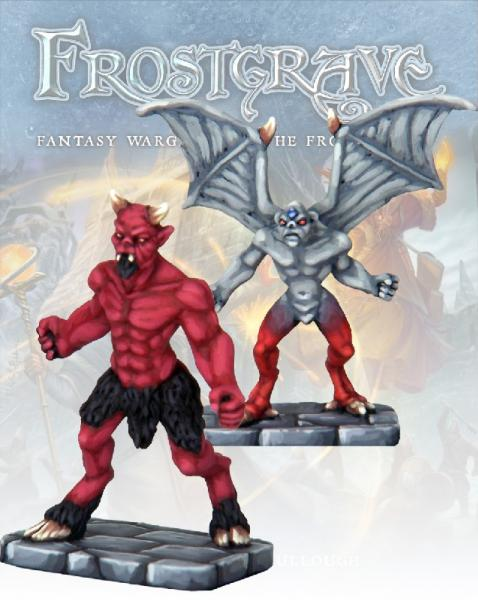 Frostgrave: Imp Demon and Minor Demon