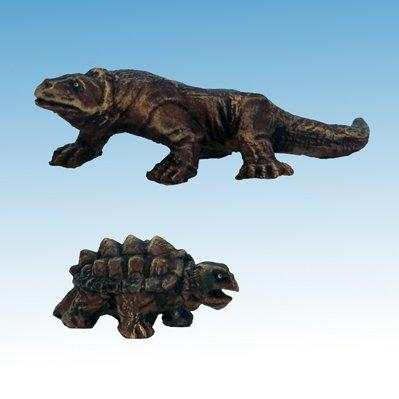 Frostgrave: Large Lizard & Snapping Turtle