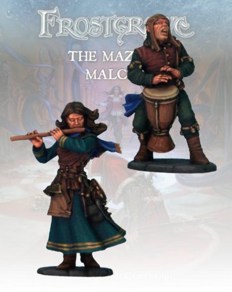 Frostgrave: Sonancer & Apprentice