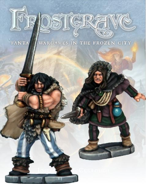 Frostgrave: Thief and Barbarian
