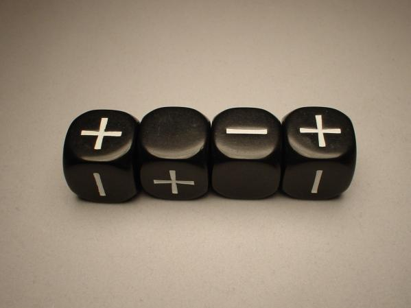 Fudge Dice: Black