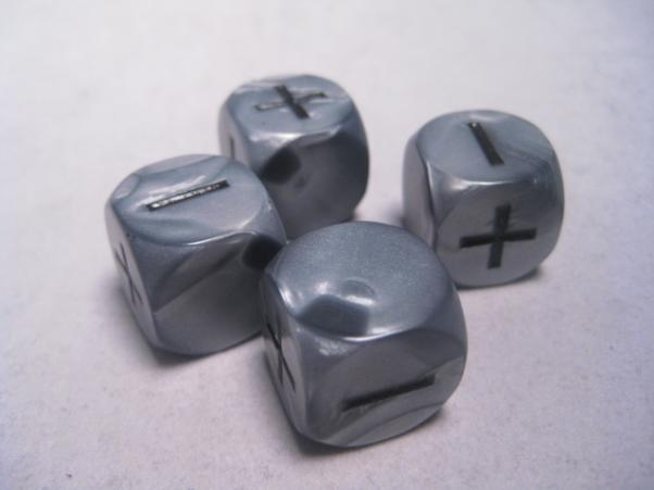 Fudge Dice: Olympic Silver