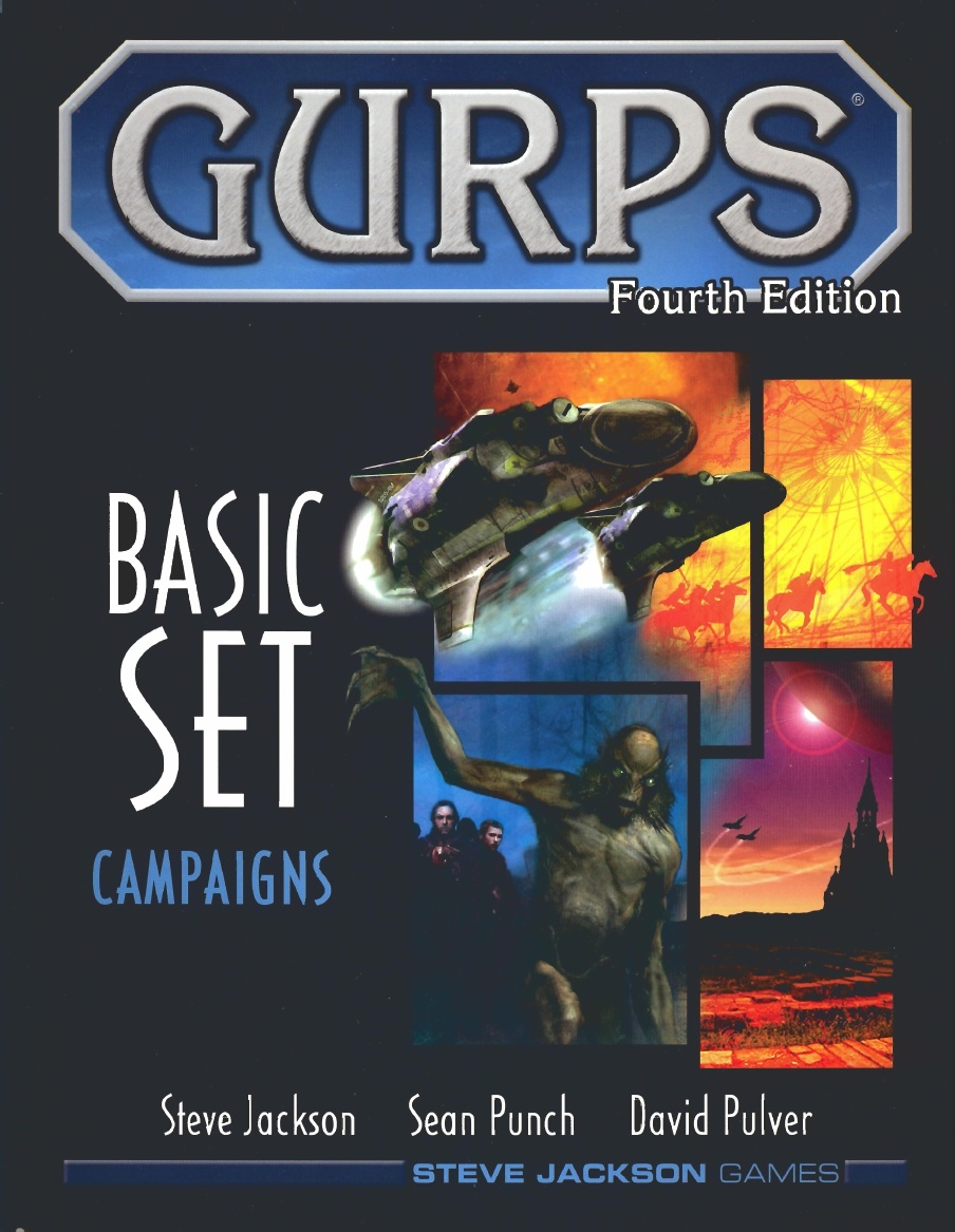 GURPS 4th Edition: Basic Set Campaigns