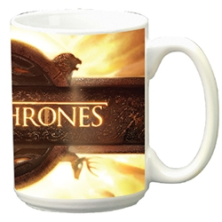 Game of Thrones: 15oz Ceramic Mug- Opening Sequence