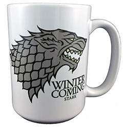 Game of Thrones: 15oz Ceramic Mug- Winter Is Coming