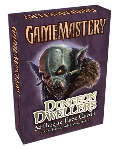 GameMastery: Face Cards: Dungeon Dwellers