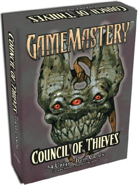 GameMastery: Item Cards: Council of Thieves