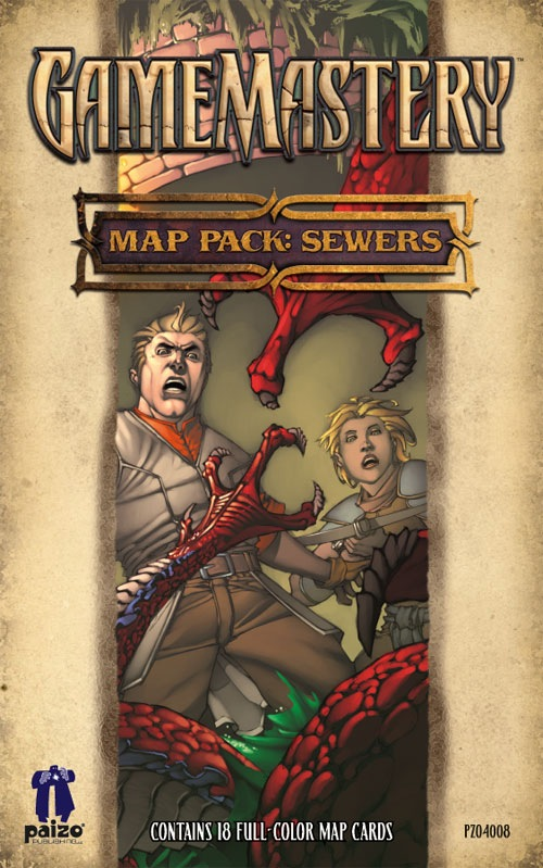 GameMastery Map Pack: Sewers