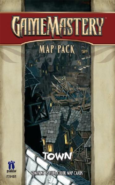 GameMastery Map Pack: Town