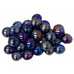 Gaming Stones: Crystal Dark Blue Iridized (40) Tube