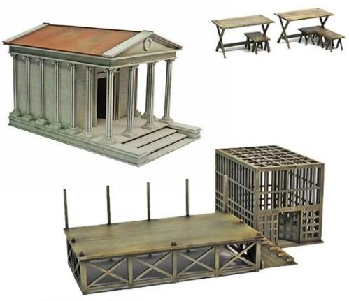Gangs of Rome: Roman Temple Market Bundle [Limited]