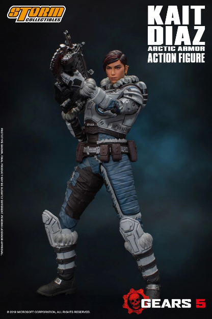 Gears Of War 5: Kait Diaz (Storm Collectibles 1/12 Action Figure)