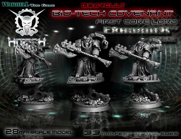 Warhell: Gearcult Bio-Tech Covenant- First Core Lord Exhorder