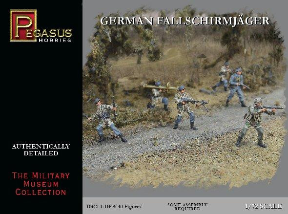 Pegasus Hobbies WWII 1/72: German Fallschirmjäger