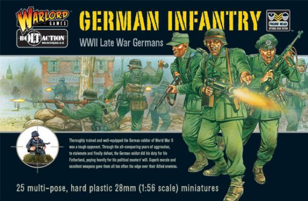 Bolt Action: German: Infantry