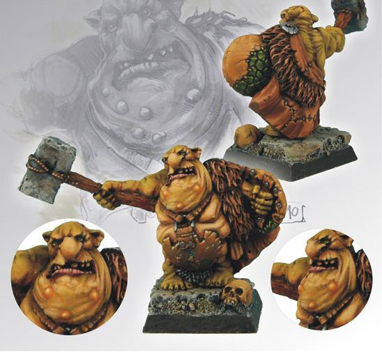 Scibor Monstrous Miniatures: Goblin Chief