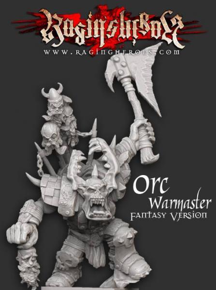 Raging Heroes - Raging Heroes: Gormakk, ORC Warmaster #RGH20157