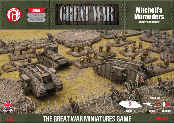 Great War: British: Mitchells Marauders - British Infantry Company