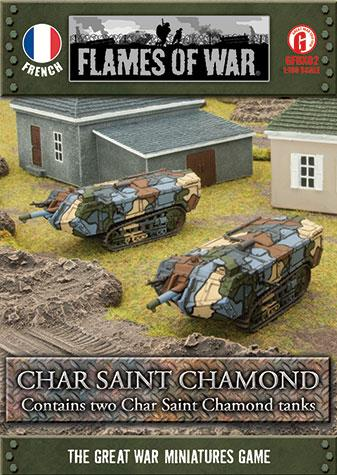 Great War: French: Char Saint Chamond