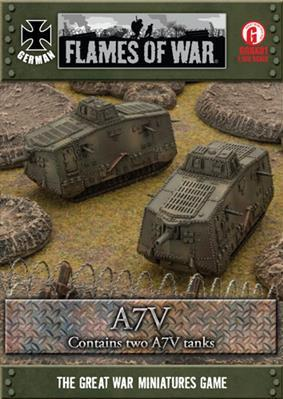 Great War: German: A7V