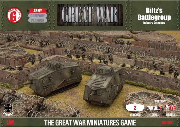 Great War: German: Biltzs Battlegroup