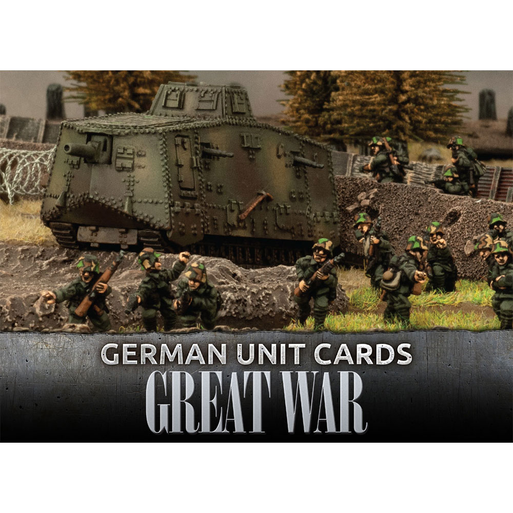 Great War: German: German Unit Cards