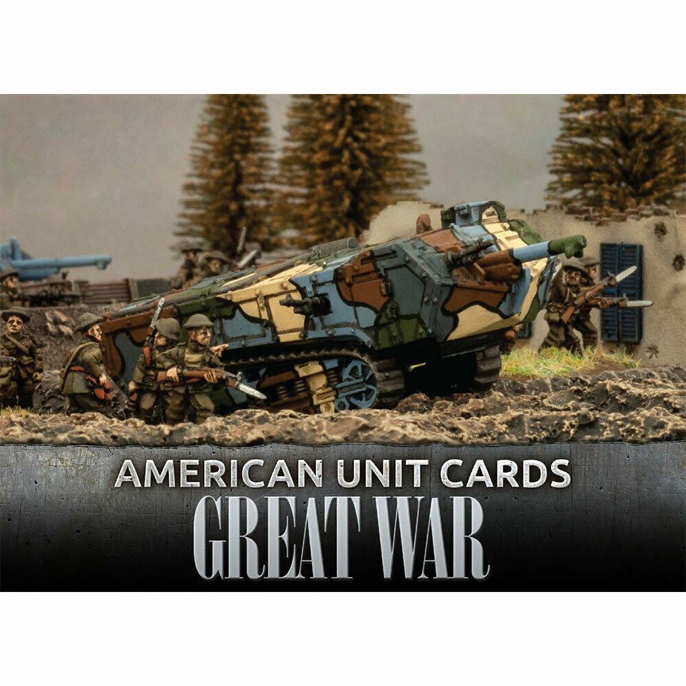 Great War: USA: American Unit Cards