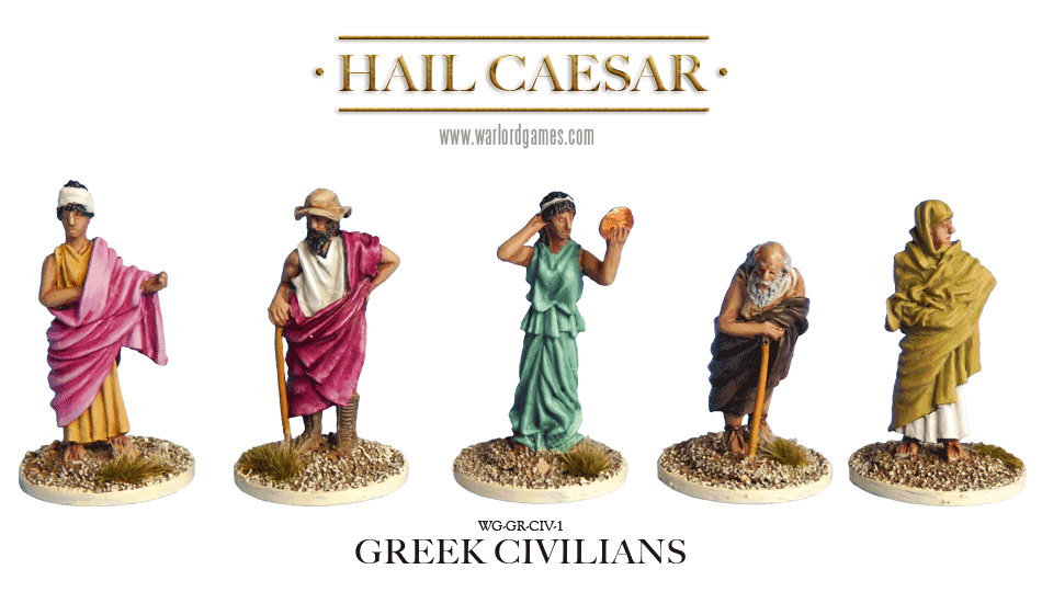 Hail Caesar: Greeks: Civilians