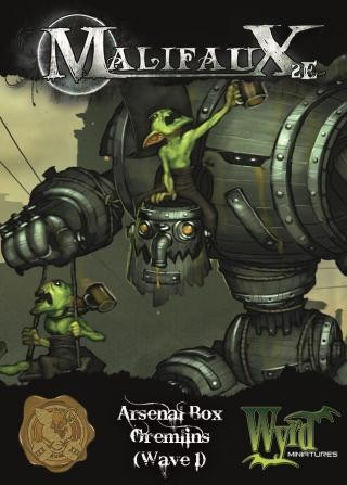 Malifaux: Gremlin: Arsenal Box