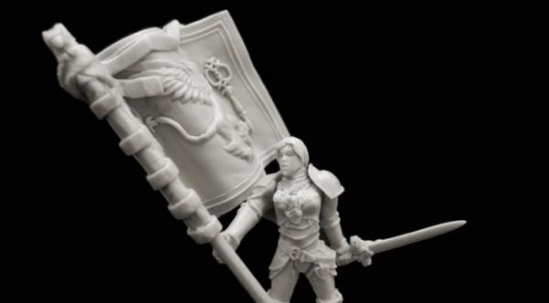 Titan Forge: Defenders of the Realm: Griffon Lady