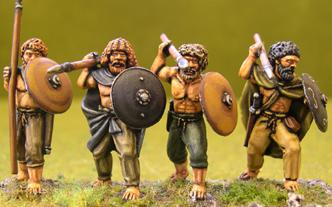 Gripping Beast 28mm Age Of Arthur: Irish- Bare Chested Warriors #1 (4)