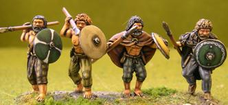 Gripping Beast 28mm Age Of Arthur: Irish- Bare Chested Warriors #2 (4)