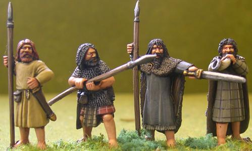 Gripping Beast 28mm Age Of Arthur: Irish- Irish Command #2 (4)