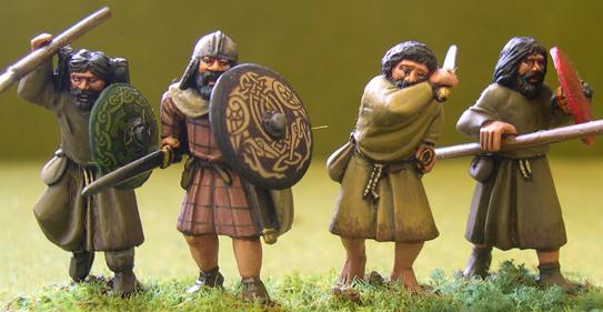 Gripping Beast 28mm Age Of Arthur: Irish- Slightly Superior Irish Warriors #1 (4)