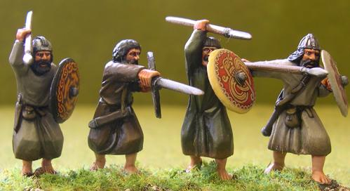 Gripping Beast 28mm Age Of Arthur: Irish- Slightly Superior Irish Warriors #2 (4)