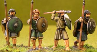 Gripping Beast 28mm Age Of Arthur: Irish- Warriors #1 (4)