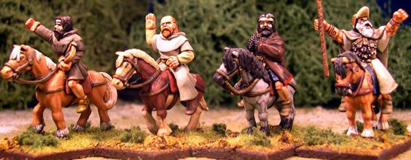 Gripping Beast 28mm Age Of Arthur: Pict- Mounted Pict Characters (4)