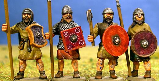 Gripping Beast 28mm Age Of Arthur: Pict- Nobles Standing (4)