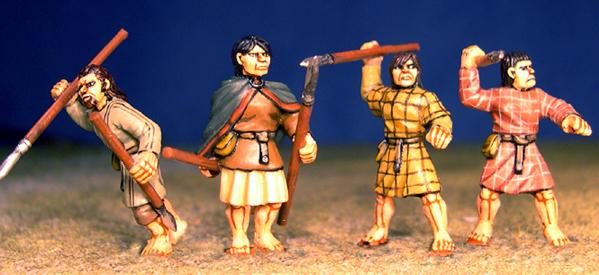 Gripping Beast 28mm Age Of Arthur: Pict- Pict Hunters (4)