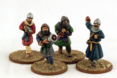 Gripping Beast 28mm Armies Of Islam: Naffatan & Midfa (4)