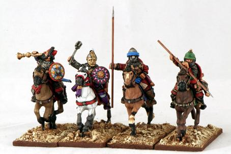 Gripping Beast 28mm Armies Of Islam: Seljuk Heavy Cavalry (Command) (4)